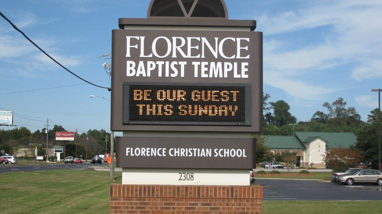 Florence Baptist Temple, Florence, SC