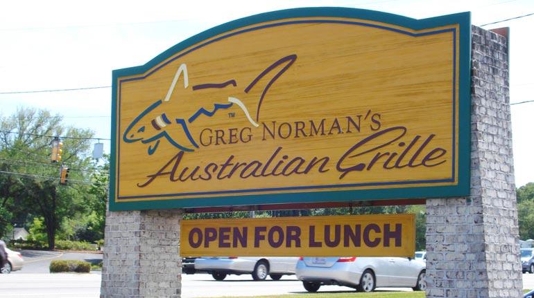 Greg Norman's Australian Grille, N. Myrtle Beach, SC