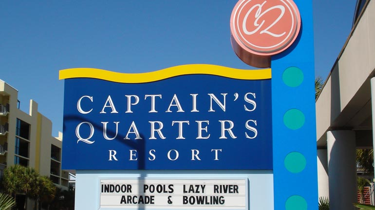 Captain's Quarters Resort, Myrtle Beach, SC