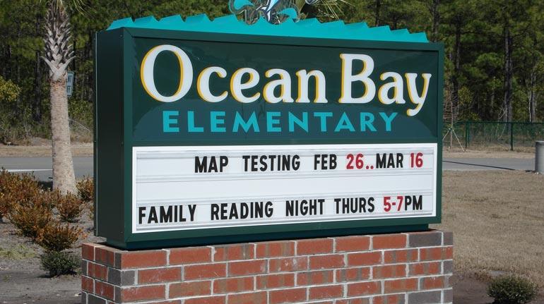 Ocean Bay Elementary, Myrtle Beach, SC