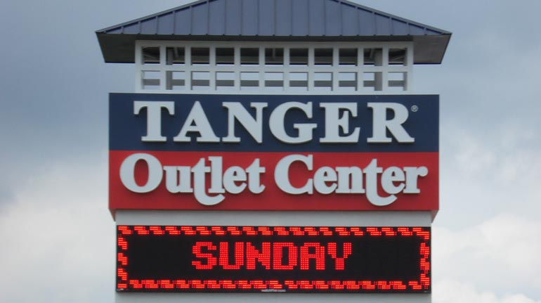 Tanger Outlet Center, Myrtle Beach, SC