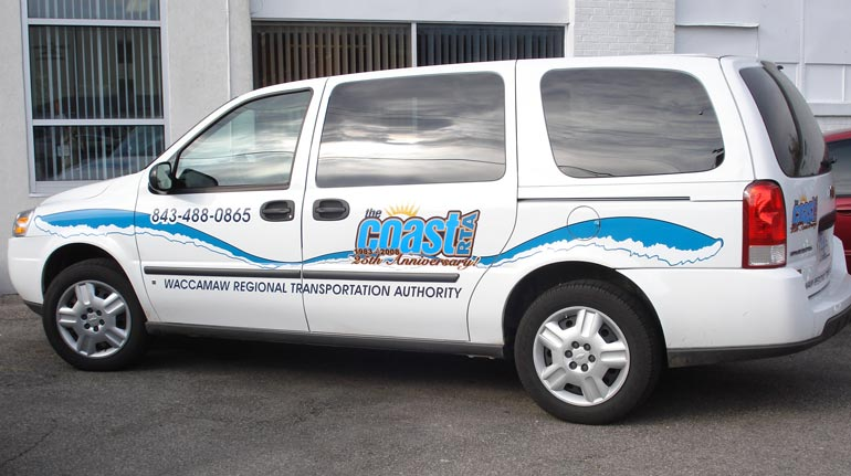 Coast RTA Vehicle Graphics