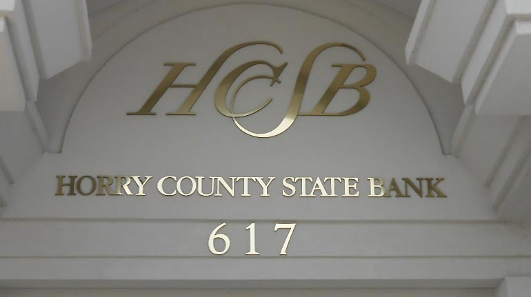 Horry County State Bank, N. Myrtle Beach, SC