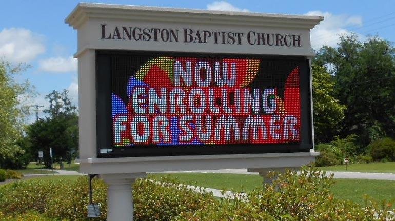 Langston Baptist Church, Conway, SC