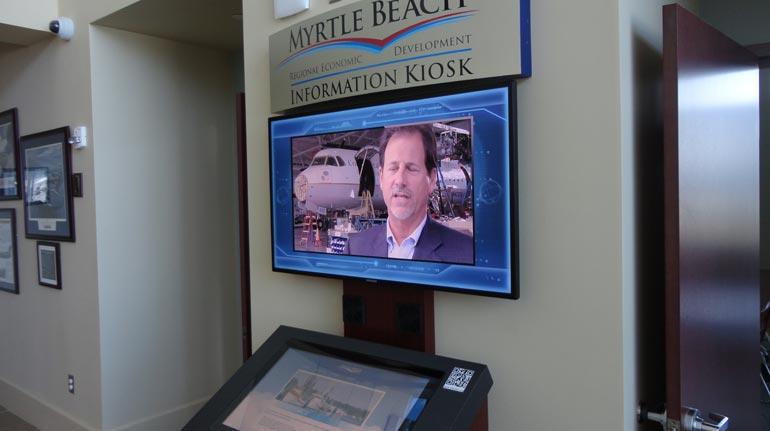 Myrtle Beach Regional Economic Development Kiosk, Myrtle Beach, SC