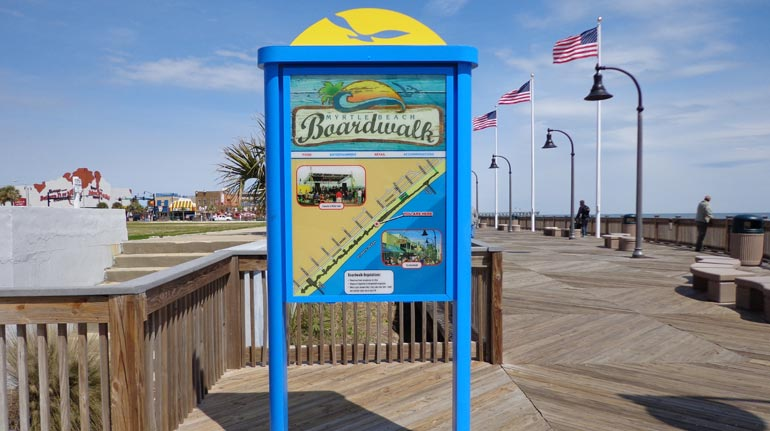 Myrtle Beach Boardwalk, Myrtle Beach, SC