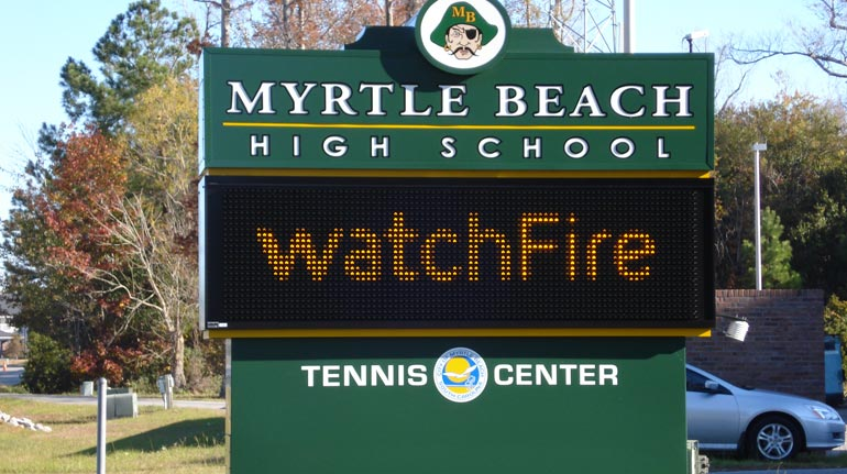 Myrtle Beach High School, Myrtle Beach, SC