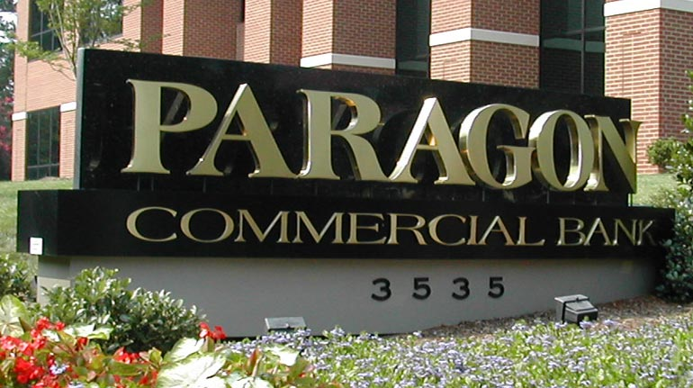 Paragon Commercial Bank, Raleigh, NC