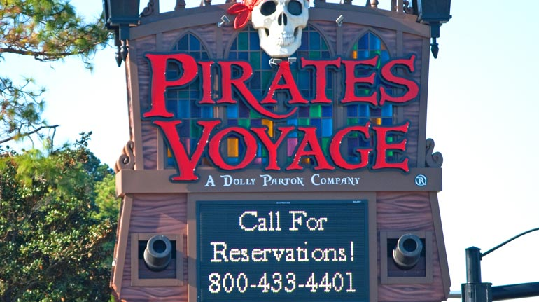 Pirates Voyage, Myrtle Beach, SC