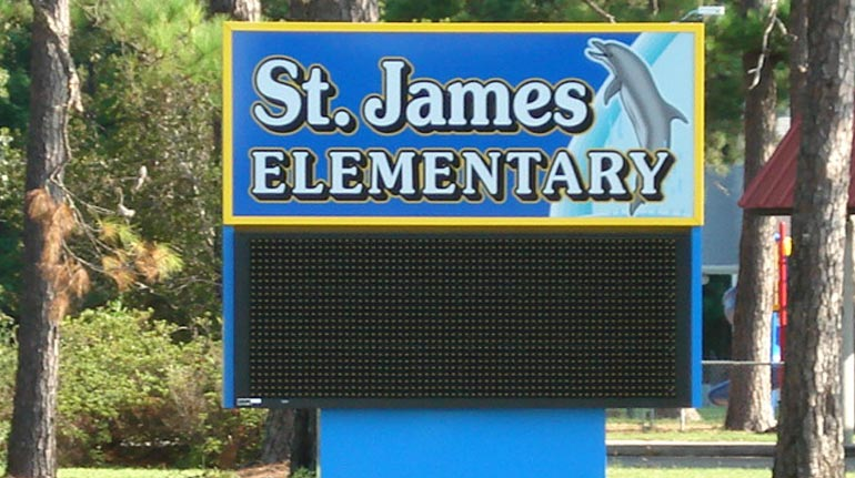 St. James Elementary School, Murrells Inlet, SC