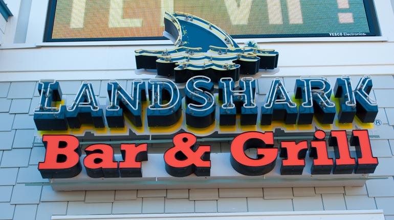 Landshark Bar & Grill, Myrtle Beach, SC