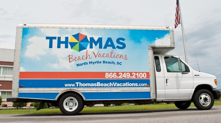 Thomas Beach Vacations, N. Myrtle Beach, SC